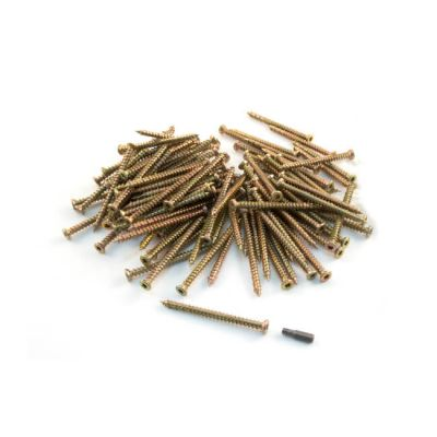 Concrete Frame Screw - 7.5mm x 92mm - 100 Pcs