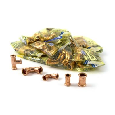 Xpress Gas Fittings Pack - 70 Piece