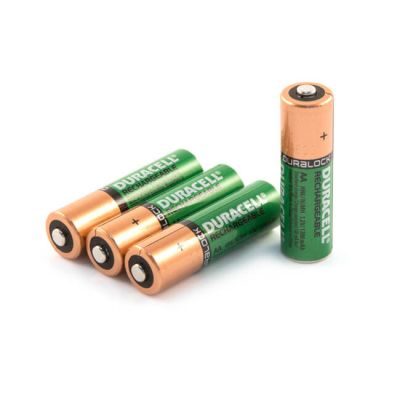 AA - Duracell NiMH Rechargeable Batteries - Pack of 4