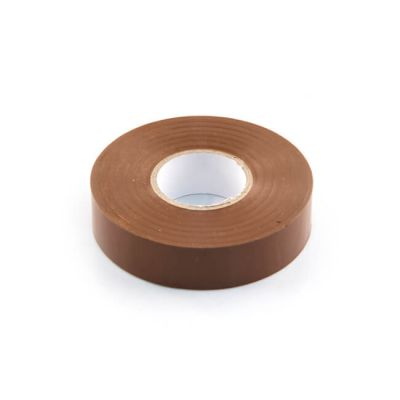 Electrical Insulation Tape - 19mm x 33m Brown