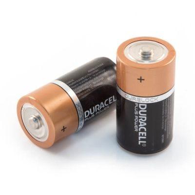 Duracell C Alkaline Batteries - Pack of 2