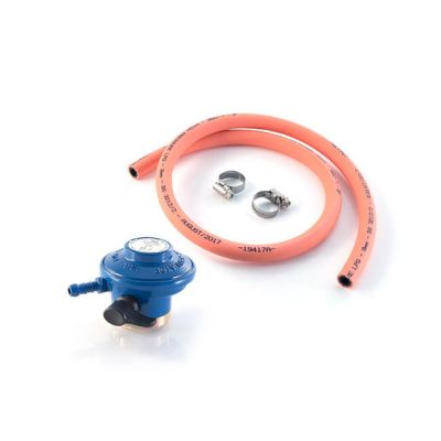 Clip-on Butane Regulator & Hose Kit