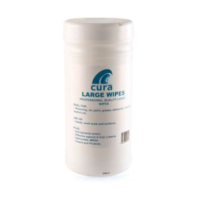 Cura Large Hand Cleaning Wipes