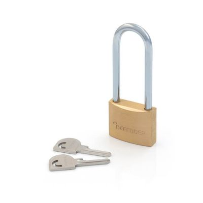 Defender by Squire Solid Brass Padlock - 40mm 2.5""