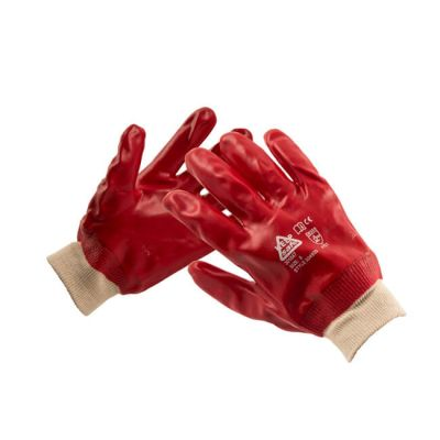 Dipped Waterproof PVC Gloves