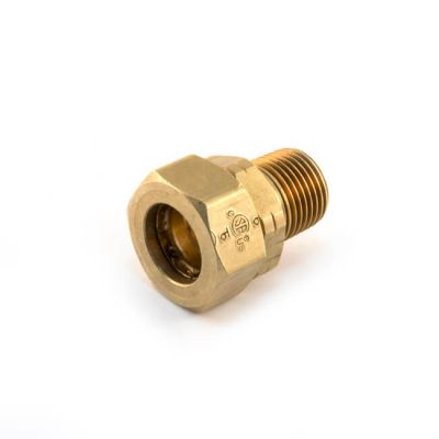 "Gastite Male Coupler Adaptor - DN20 x 3/4"" BSP TM"