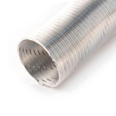 Domus Aluminium Round Duct 1.5m x 125mm i.d.