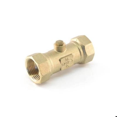 "Double Check Valve, Non Return - 3/4"" BSP DZR"