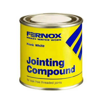 Fernox Hawk White Jointing Compound - 400g Tin