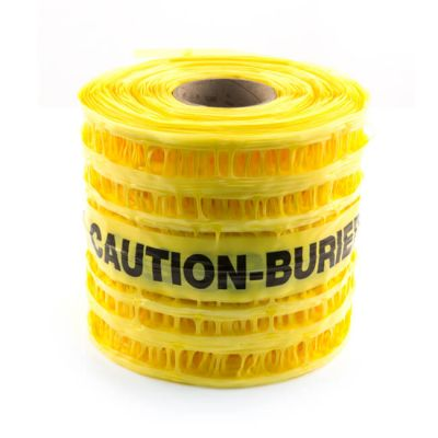 Gas Underground Detectable Tape - 200mm x 100m
