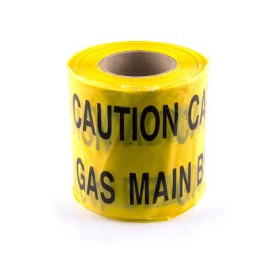 Gas Underground Hazard Marker Warning Tape - 365m