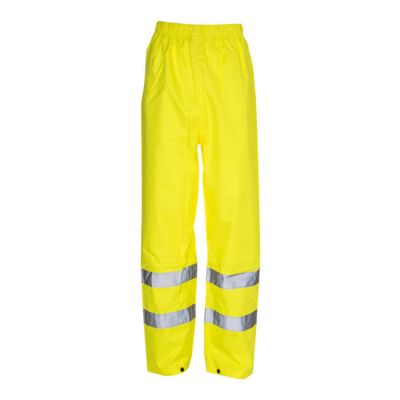 Hi Vis Reflective Waterproof Trousers - Large