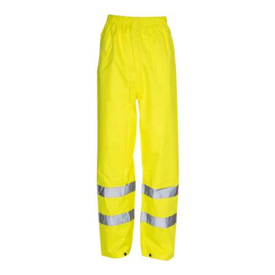 Hi Vis Reflective Waterproof Trousers - Medium