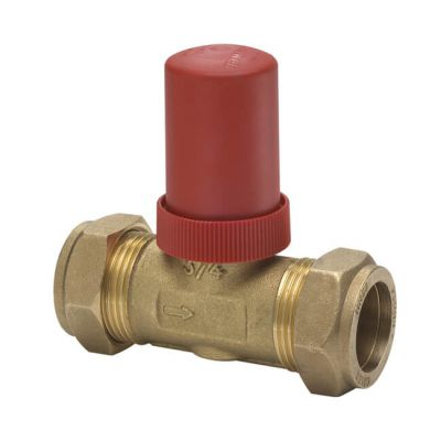 Honeywell DU144 Auto By-Pass Valve - 22mm Straight