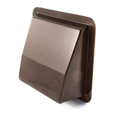 "KVH99 Air Brick Cowl 9"" X 9"" Brown"
