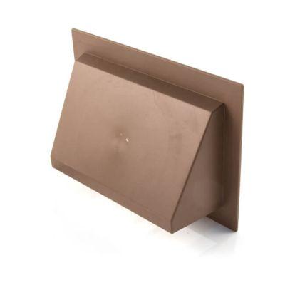 """KVH17 Air Brick Cowl 9"""" X 6"""" Brown"""