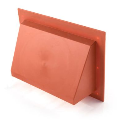 "KVH17 Air Brick Cowl 9"" X 6"" Terracotta"