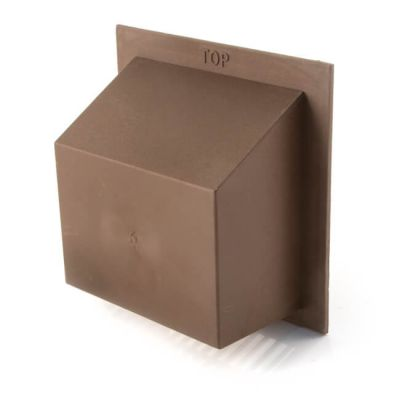 "KVH8 Air Brick Cowl 6"" X 6"" Brown"