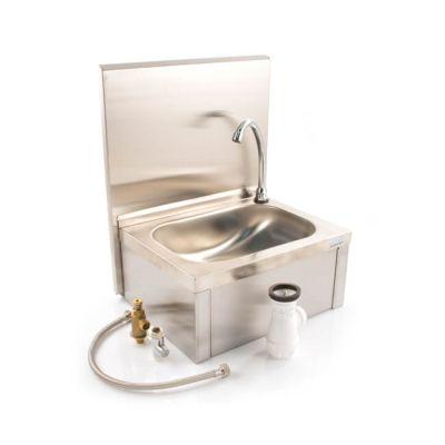 Knee Push Operated Rectangular Hand Wash Sink