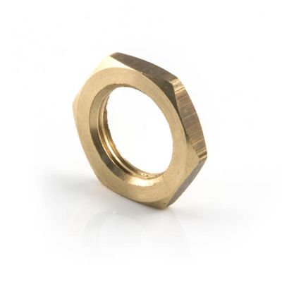 Brass Threaded Locknut - M15
