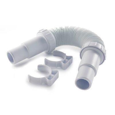 Opella Adj. Flexible Waste Pipe - 32/40mm Short