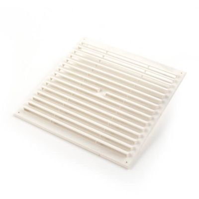 """Door Ventilator RVH99 - 9"""" x 9"""", White"""