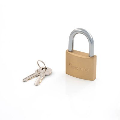 Defender Solid Brass Padlock - 50mm Keyed Alike