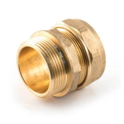 "Straight Adaptor UK Compression - 22mm x 3/4"""