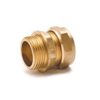 Straight Adaptor UK Compression - 4mm x 1/8""