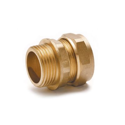 Straight Adaptor UK Compression - 5mm x 1/8""