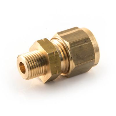 "Straight Adaptor UK Compression - 6mm x 1/4"""
