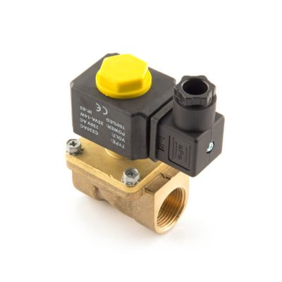Directly Activated Water Solenoid Valve - 1/2""
