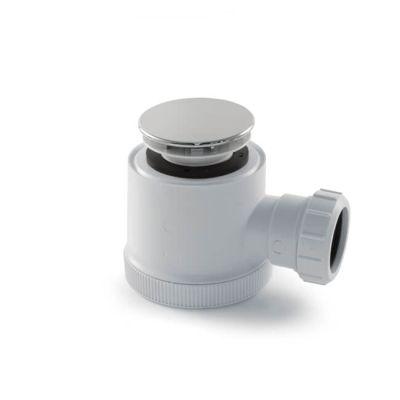"Shower Waste Trap - 75mm dia. 1.1/2""/40mm"