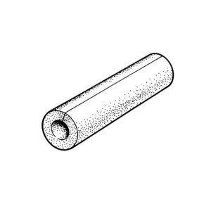 NEW 4X Pipe Lagging Insulation Foam 15mm x 25mm x 2m UK SELLER FREEPOST