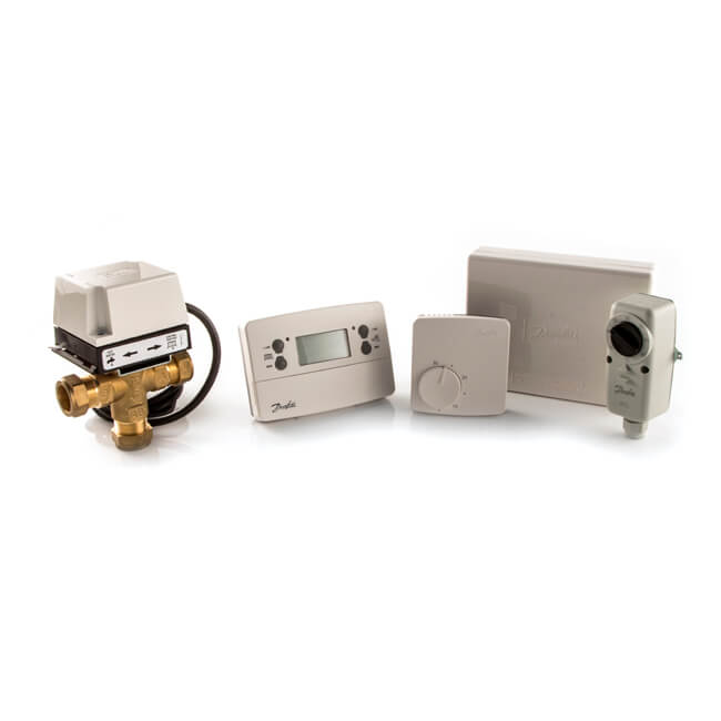 Danfoss Heatshare 3-Port Central Heating Control Pack
