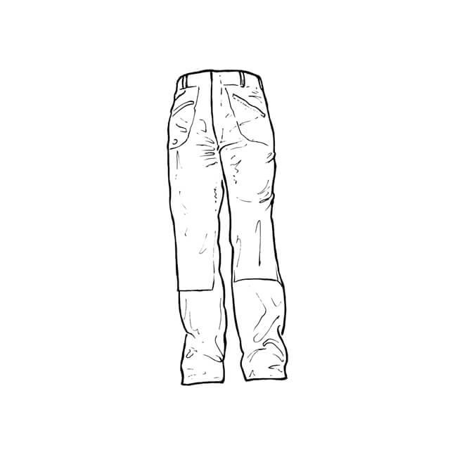 "Dickies Redhawk Men's Action Trousers L 32"", W 30"""
