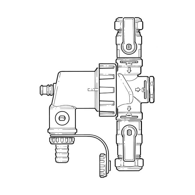 Dirtmag Mini™ Magnetic Strainer - 22mm