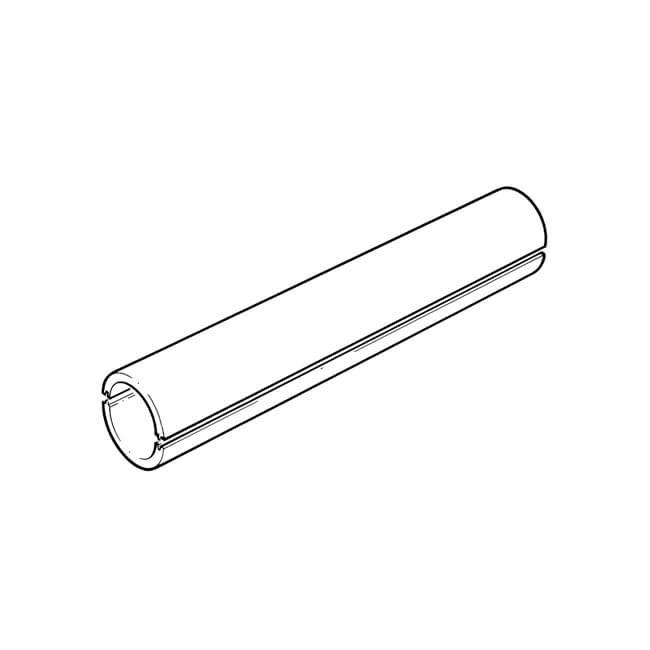 Domus EasiPipe Insulation - 1m Long x 125mm Dark Grey