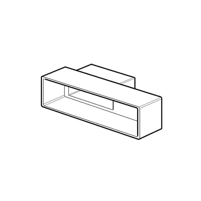 Domus Horizontal Airbrick Adaptor
