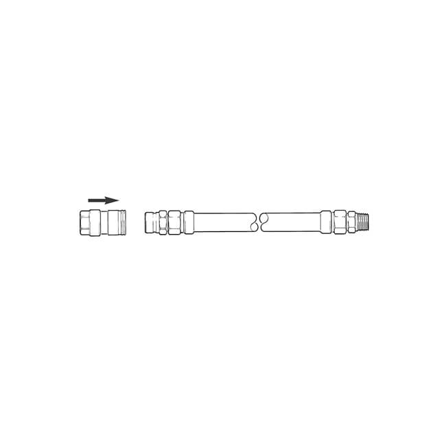 "Dormont® Catering Hose - 3/4"" x 1000mm"