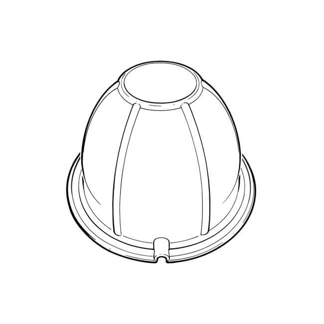 down-light attic seal - 21904