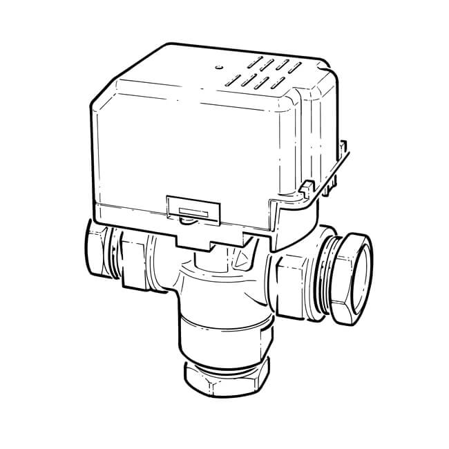 Drayton Motorised Mid Position Valve