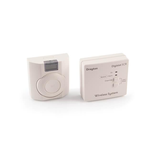 Drayton Digistat+RF Wireless Digistat Room Thermostat