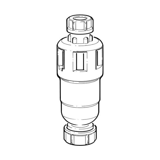 Dry Trap Tundish - 15 x 22mm Compression