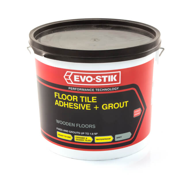 Evo-Stik Adhesive for Tile & Wooden Floors 5 Litre Tub
