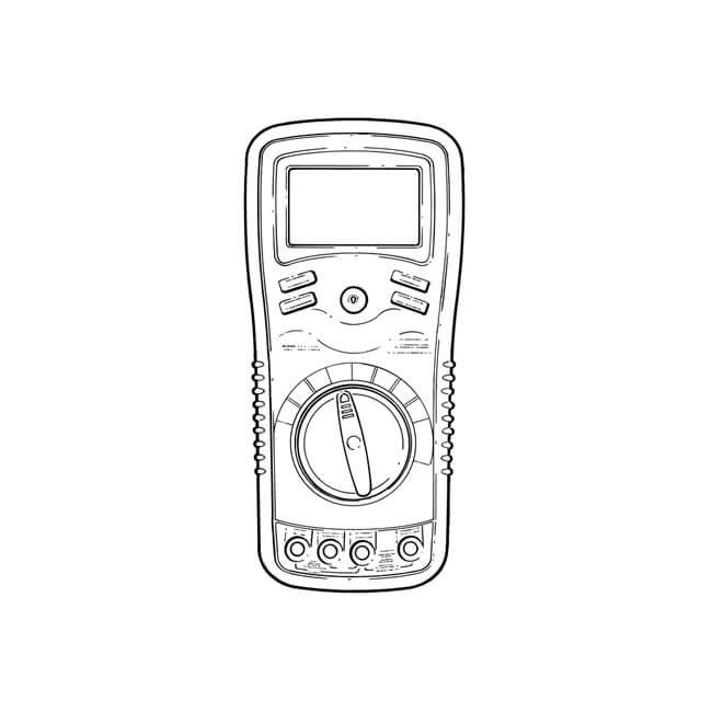 Extech EX430 True RMS Digital Multimeter