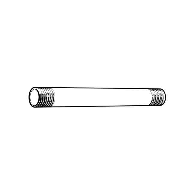 """Extended Nipple Mild Steel - 12"""" x 1.1/4"""" Galvanised"""