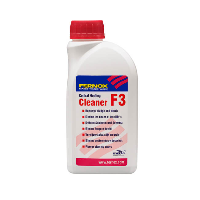 Fernox F3 Central Heating Cleaner - 500ml Bottle