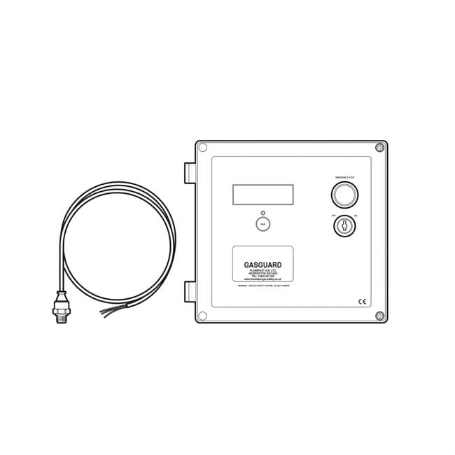 Flamefast GasGuard Gas Proving & Interlock System