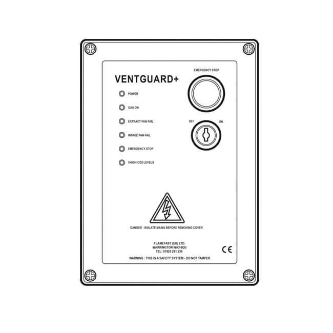 Flamefast VentGuard Plus Interlock System